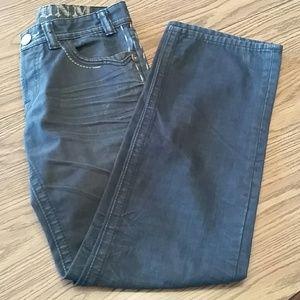 MEK DNM slim boot Jeans, 31x34, navy blue